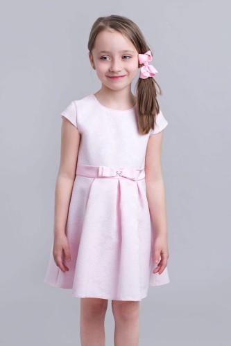 3dfbafcfc6 Różowa Sukienka Dziewczęca